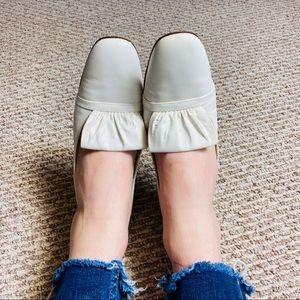 1960s • White Leather Stilettos